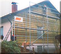 Wärmedämmung an Fassaden in Ulmet